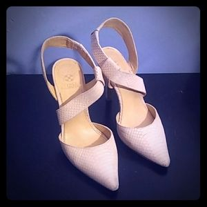 Vince Camuto Light Blush Heels size 8.5